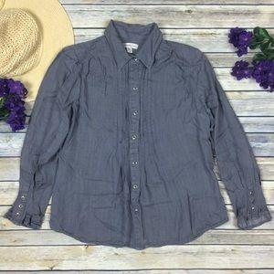 Coldwater Creek Soft Chambray Shirt